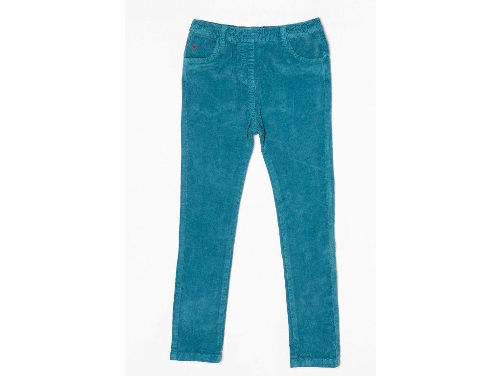 Kalhoty dívčí Baby modrá