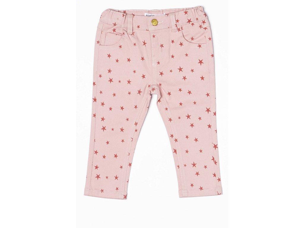 Kalhoty dívčí Kids růžová