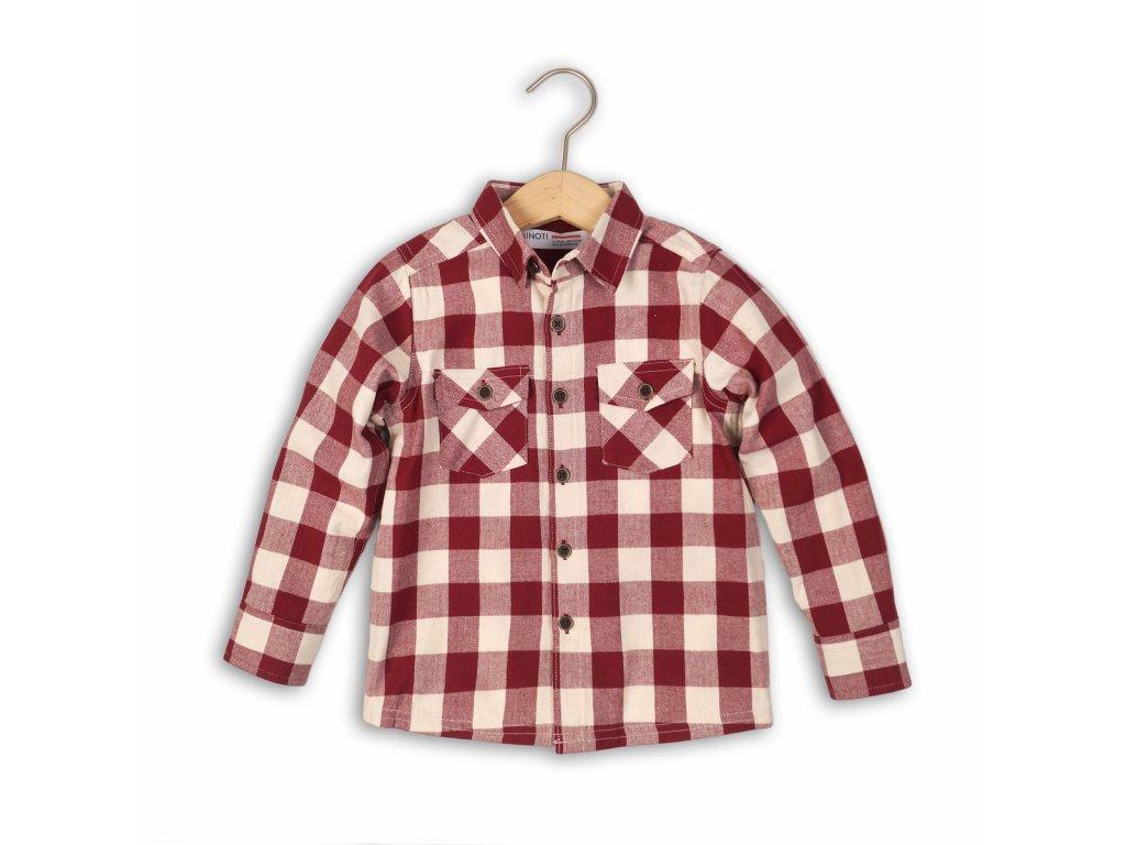 Košile chlapecká Kids červená
