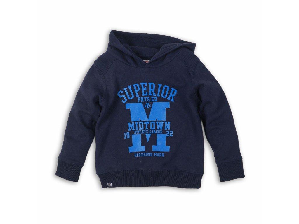 Mikina chlapecká s kapucí Kids modrá