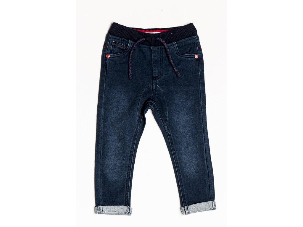 Kalhoty chlapecké džínové s elastenem Baby modrá