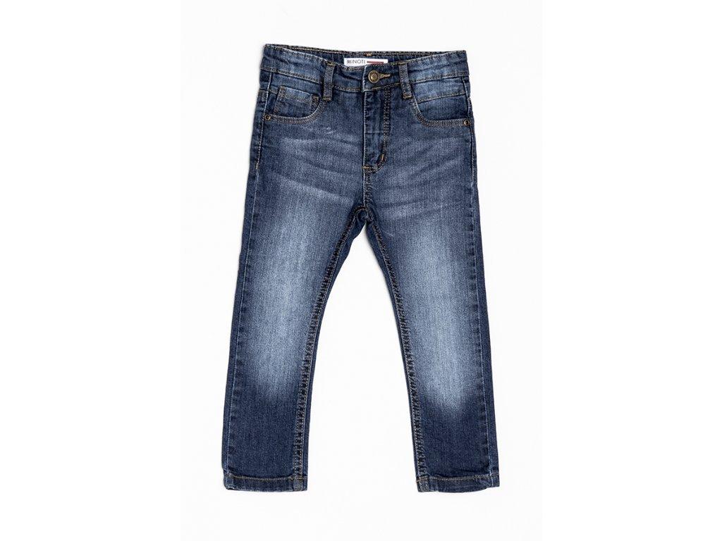Kalhoty chlapecké džínové s elastenem Kids tmavě modrá