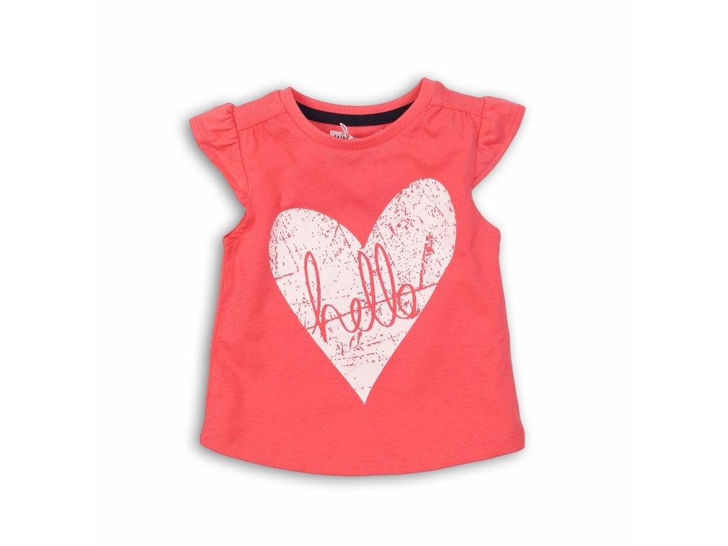 Tričko dívčí s krátkým rukávem Kids růžová