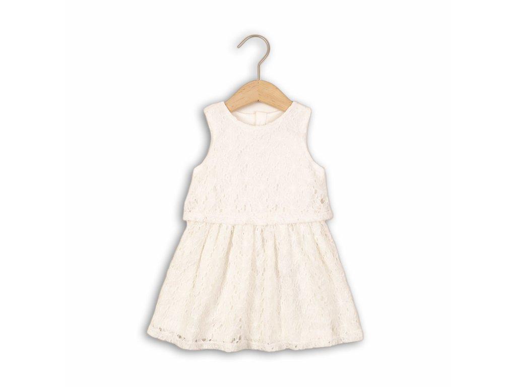 Šaty dívčí krajkové Kids bílá