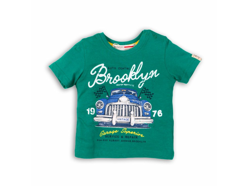tričko chlapecké Baby zelená