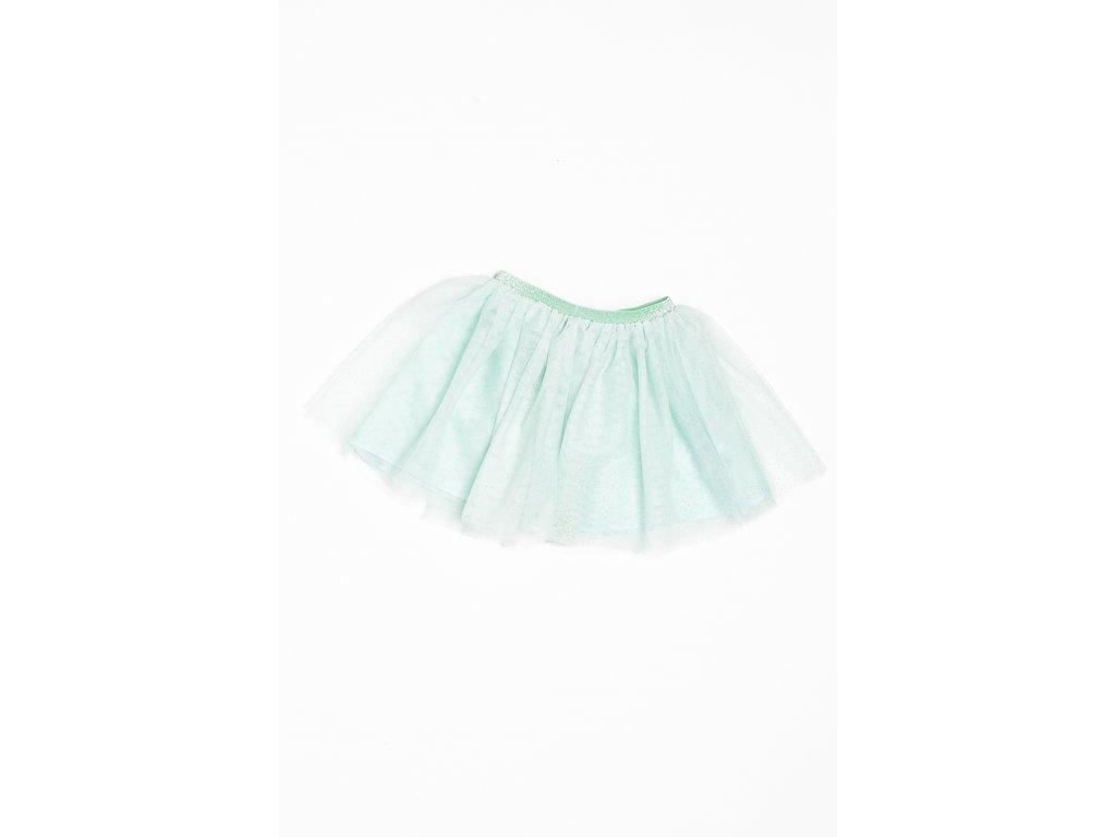 Sukně dívčí TUTU Baby zelená