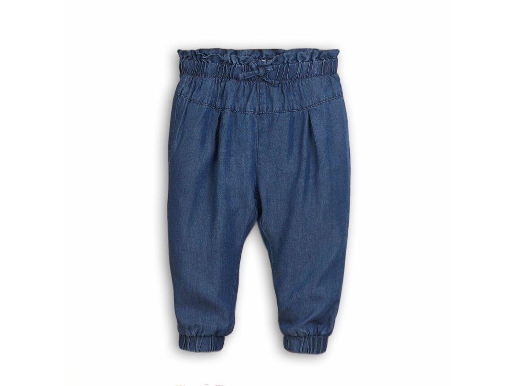 Kalhoty dívčí harémové Baby modrá