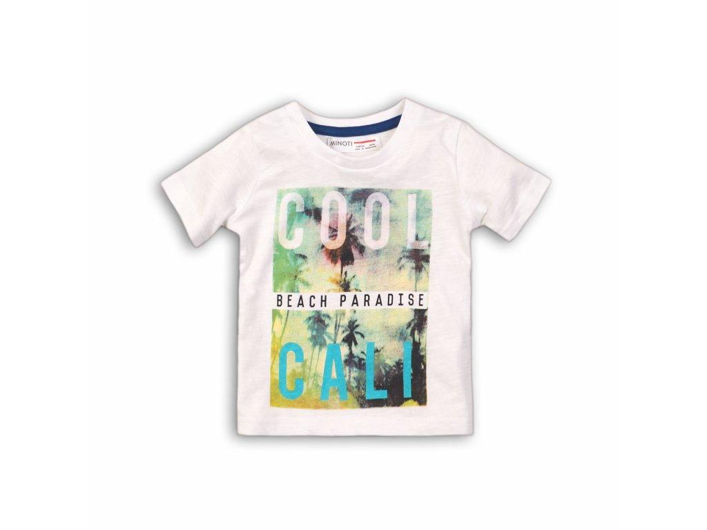 Tričko chlapecké s krátkým rukávem Baby bílá