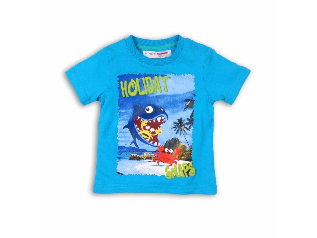 tričko chlapecké Baby modrá