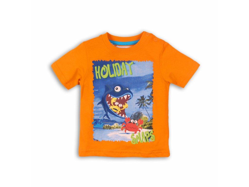 tričko chlapecké Baby oranžová