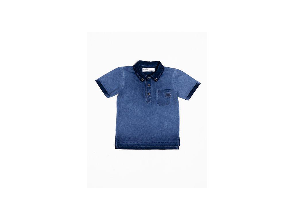 Tričko chlapecké POLO s krátkým rukávem Baby modrá