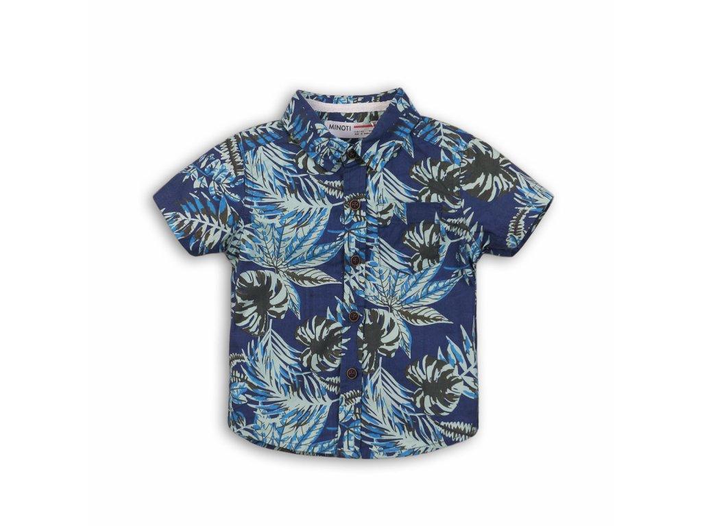 Košile chlapecká s krátkým rukávem Baby kluk