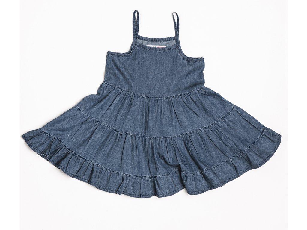 Šaty dívčí : odlehčená džínovina Kids holka