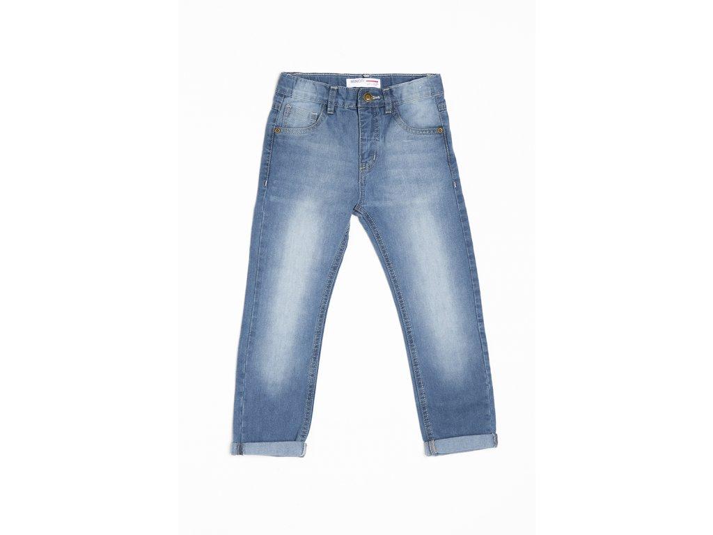 Kalhoty džínové dívčí s elastenem Kids modrá