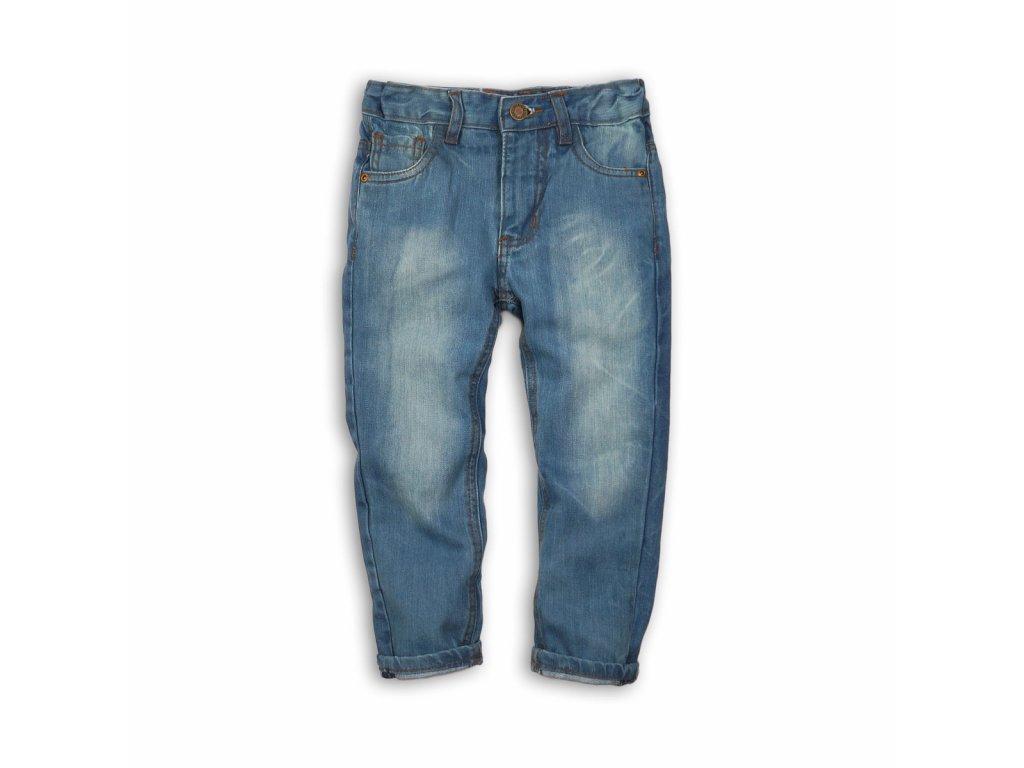 Kalhoty chlapecké džínové s elastenem Junior světle modrá