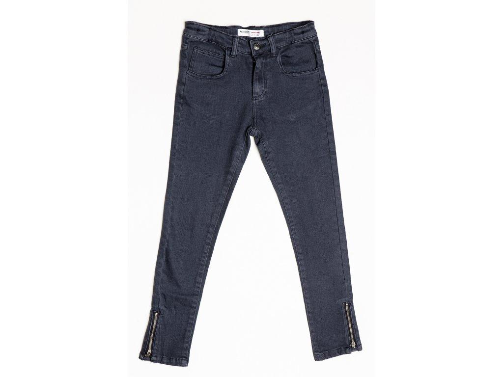Kalhoty divčí s elastenem Kids světle modrá