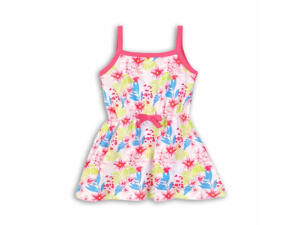 šaty dívčí letní Baby bílá