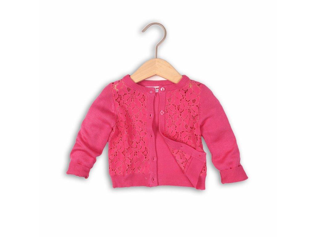 svetr dívčí Baby růžová