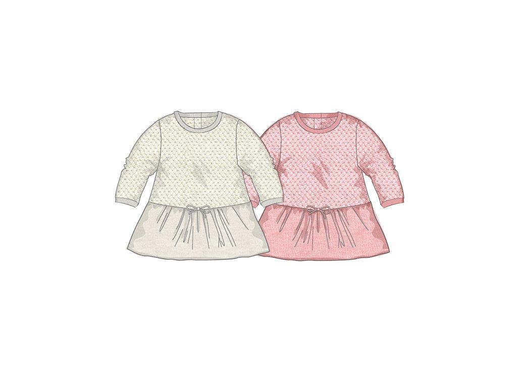 Šaty kojenecké úpletové Baby béžová