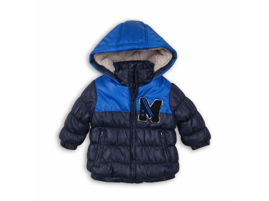 Bunda chlapecká zimní Puffa Baby modrá