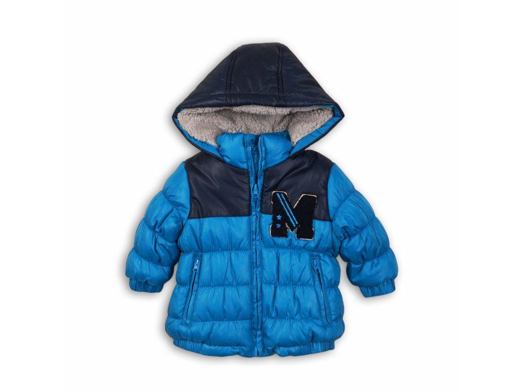 Bunda chlapecká zimní Puffa Baby tyrkysová