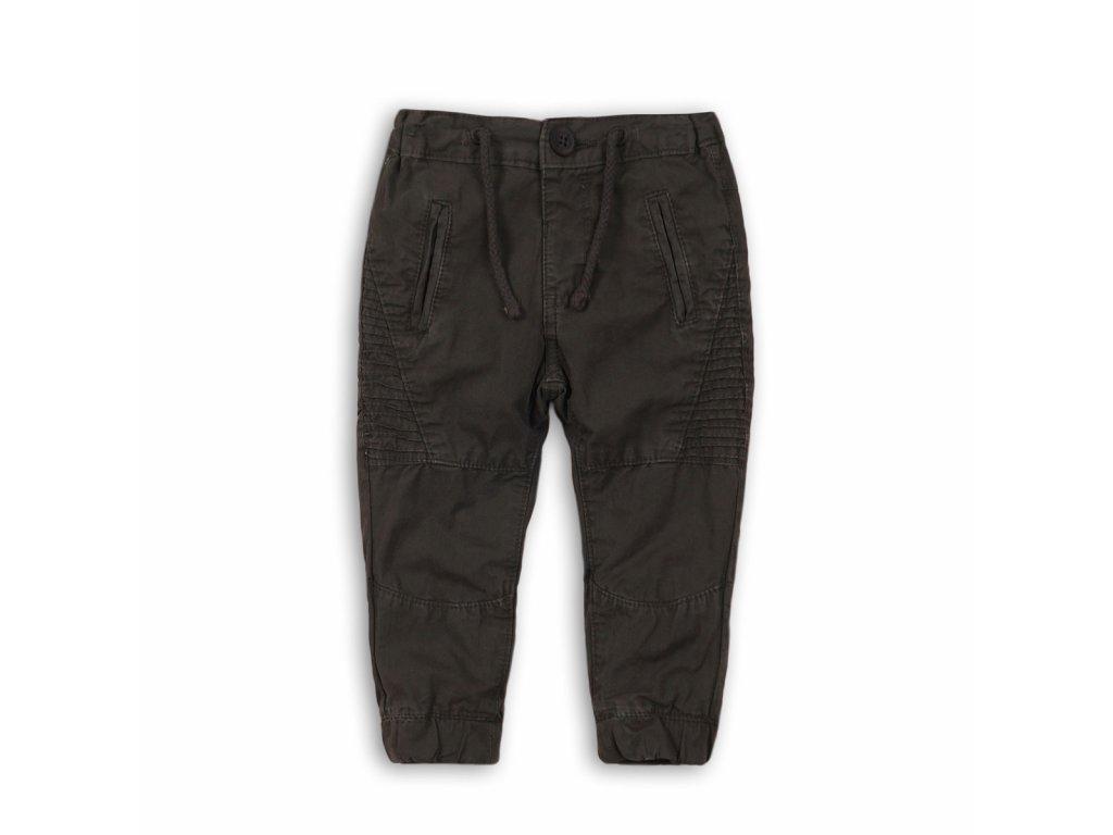 Kalhoty chlapecké s elastenem Baby šedá