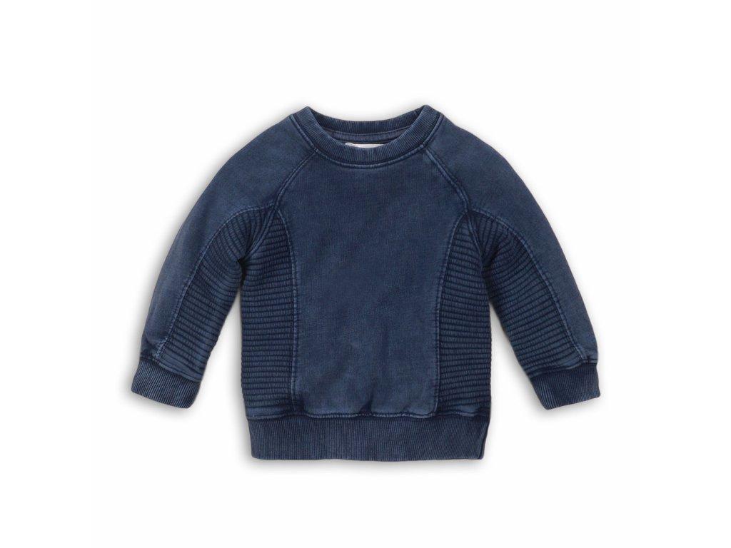 Mikina chlapecká, opraný efekt Kids modrá