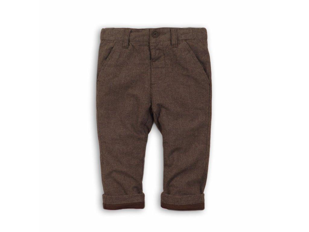 Kalhoty chlapecké vlněné Kids hnědá