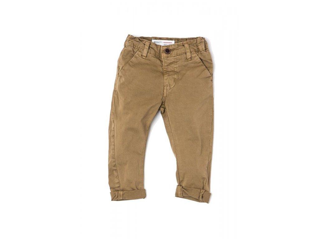 Kalhoty chlapecké Chino Baby hnědá