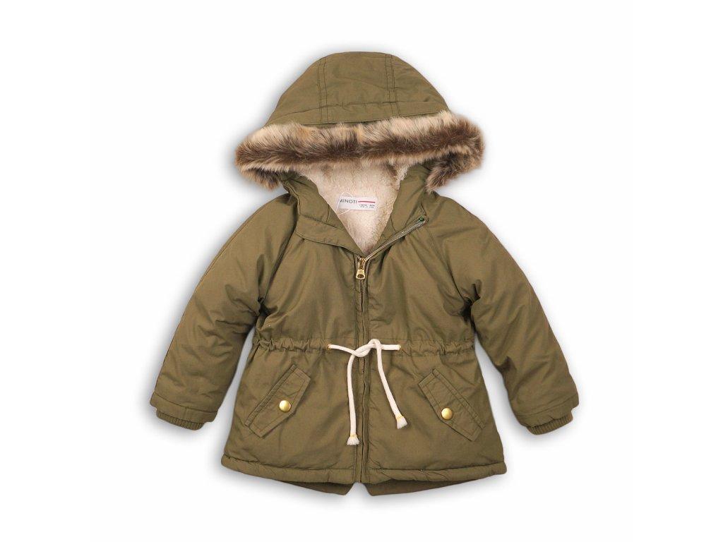 Kabát dívčí zimní Parka Baby khaki