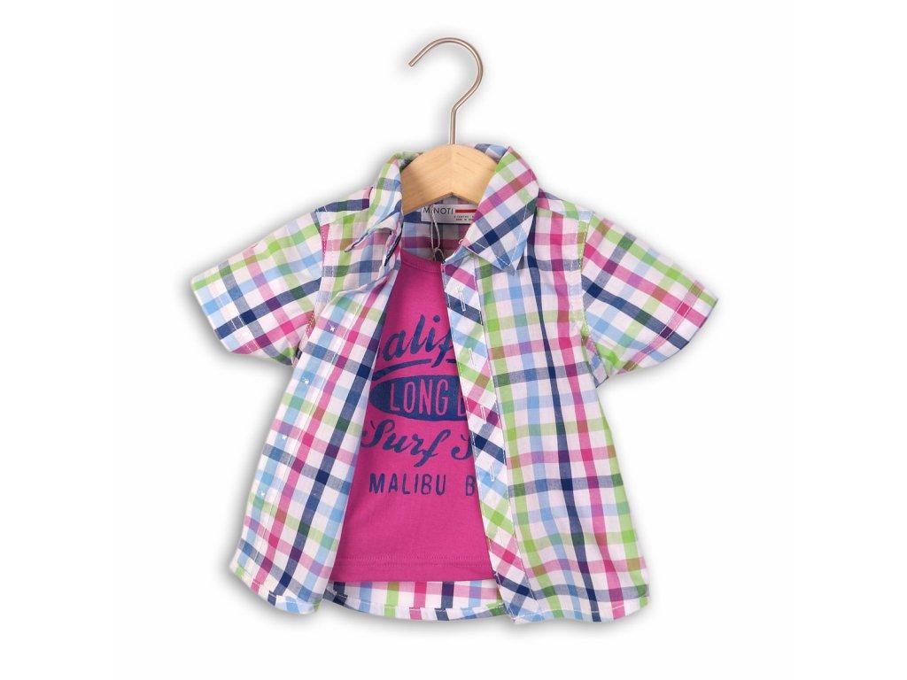 košile a tričko Baby fialová