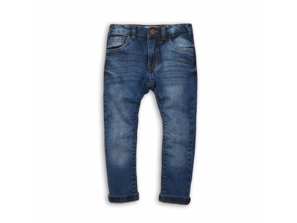 Kalhoty chlapecké džínové s elastenem Kids modrá