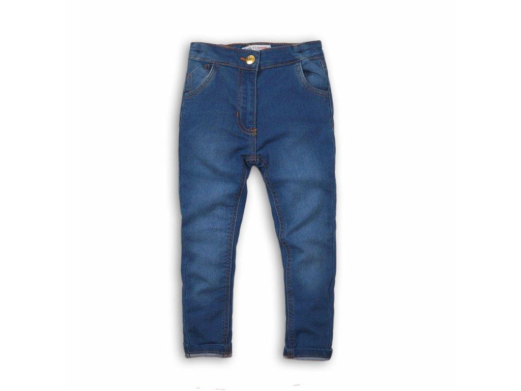 Kalhoty dívčí džínové elastické Junior modrá