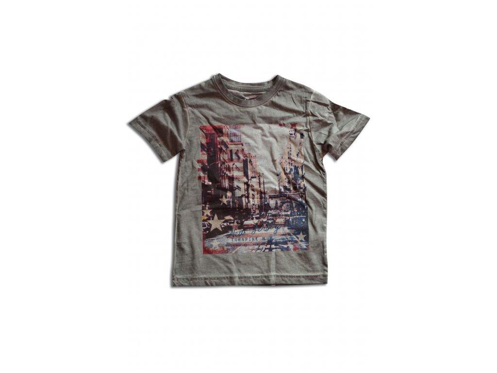 tričko letní chlapecké Kids šedá