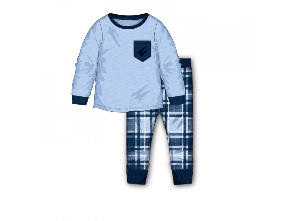 Pyžamo chlapecké kostka Baby kluk