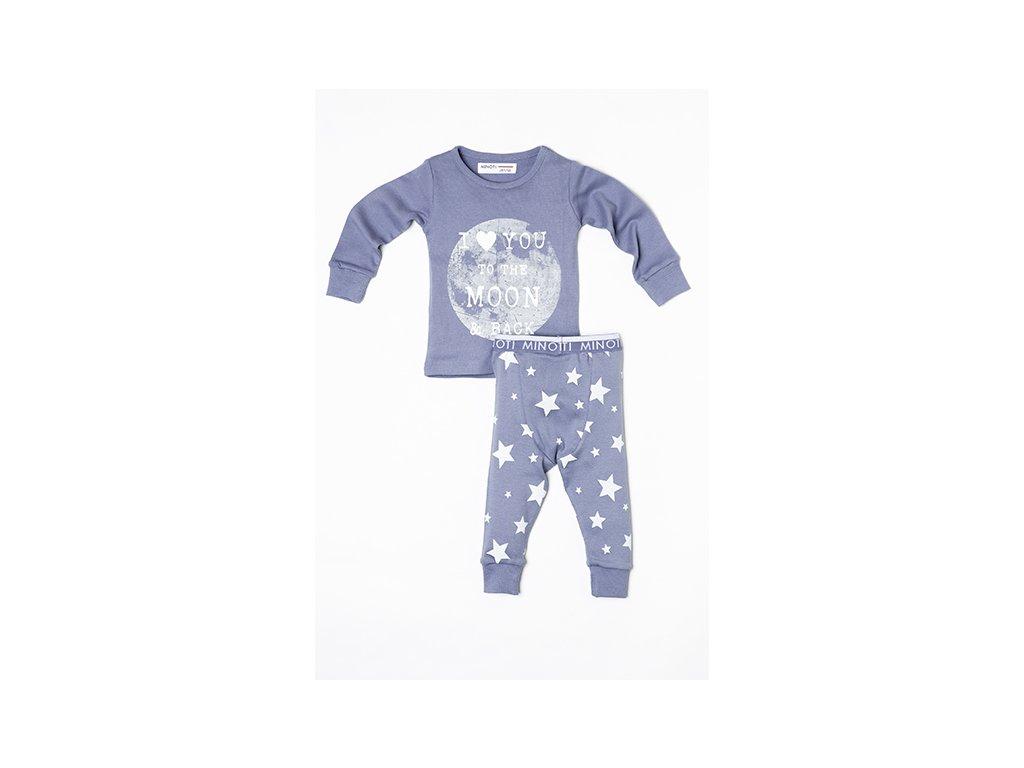 Pyžamo dívčí Moon Baby holka