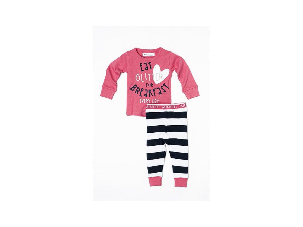 Pyžamo dívčí proužek Baby holka