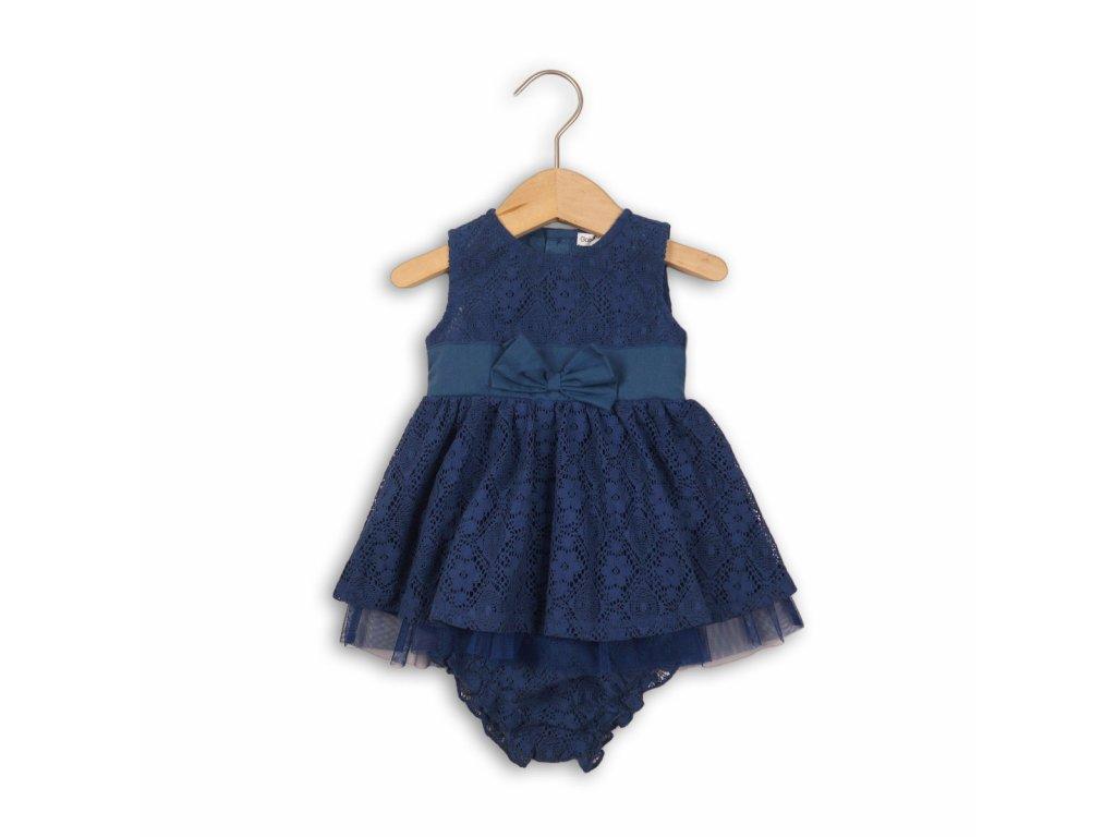 Šaty kojenecké a kalhotky Baby modrá