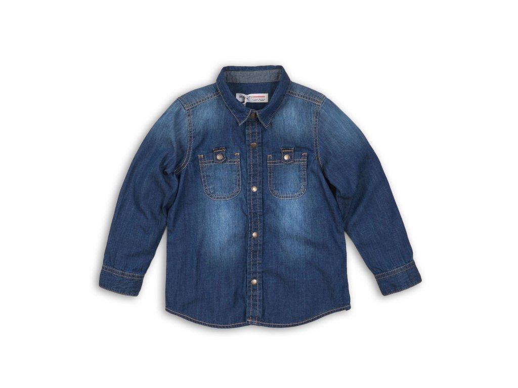 Košile chlapecká Junior modrá