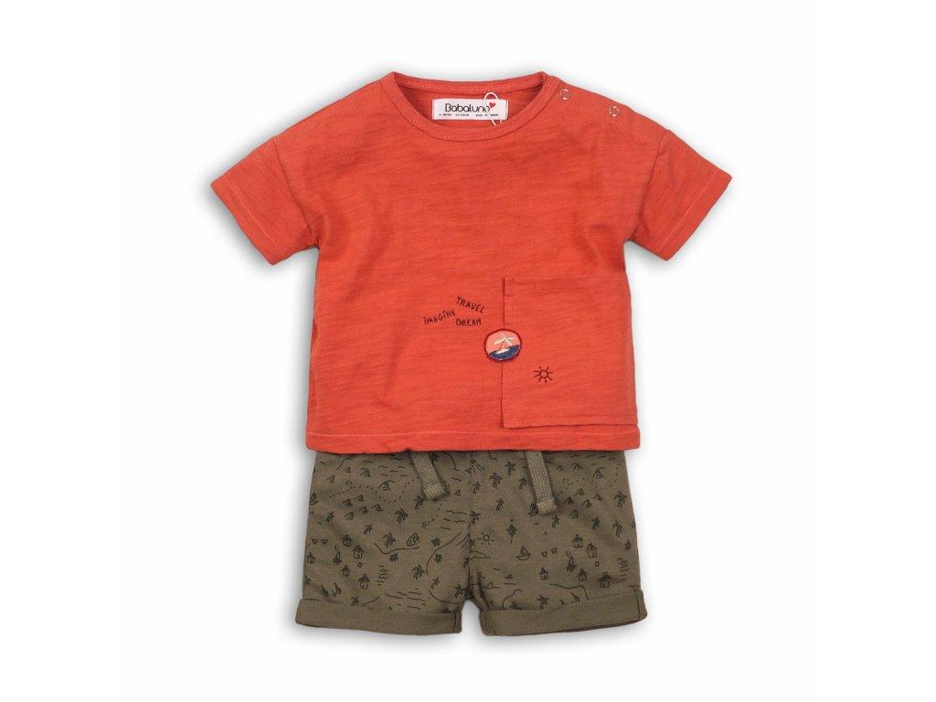 Chlapecký set, tričko a kraťasy Baby kluk
