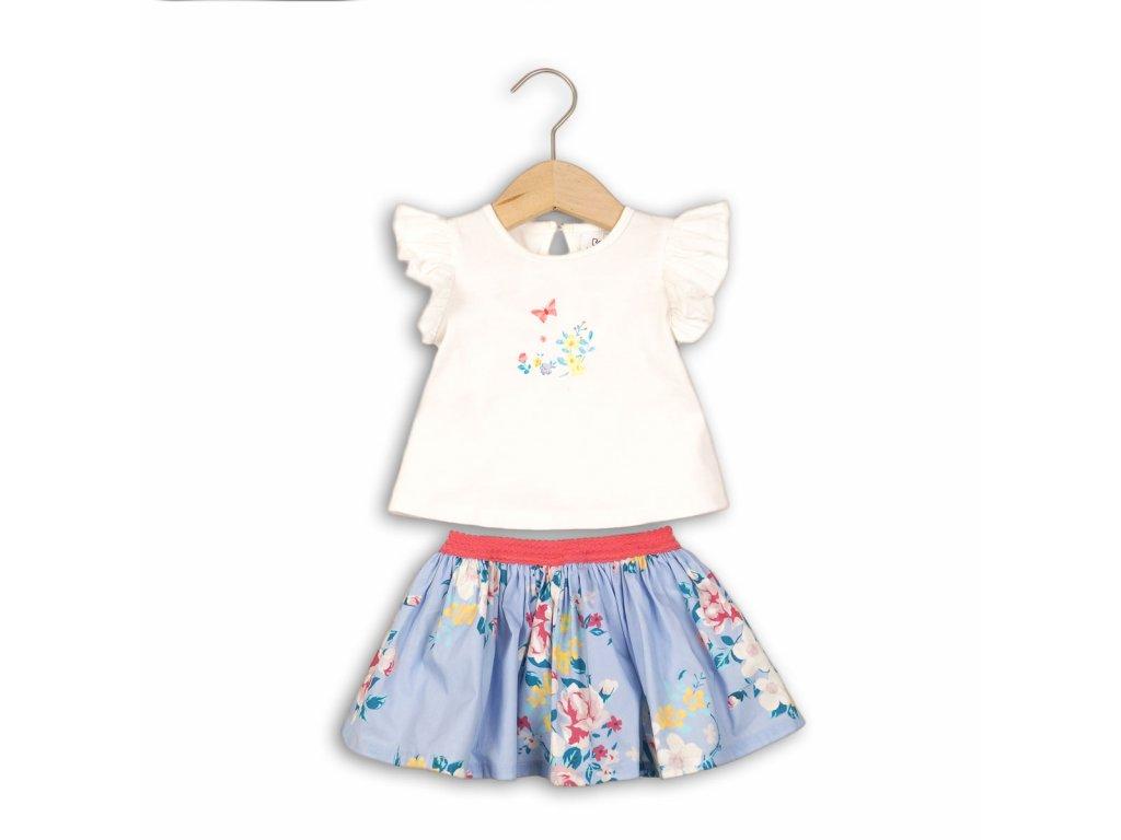 Dívčí set, tričko a sukně Baby holka