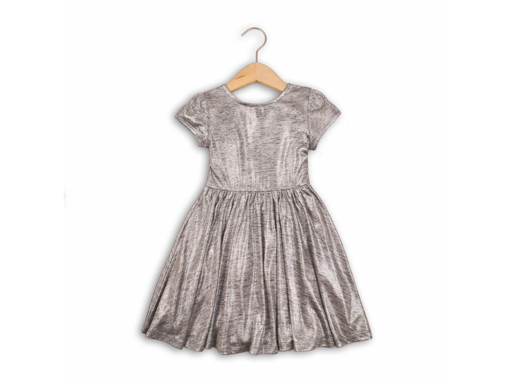 Šaty dívčí Junior šedá