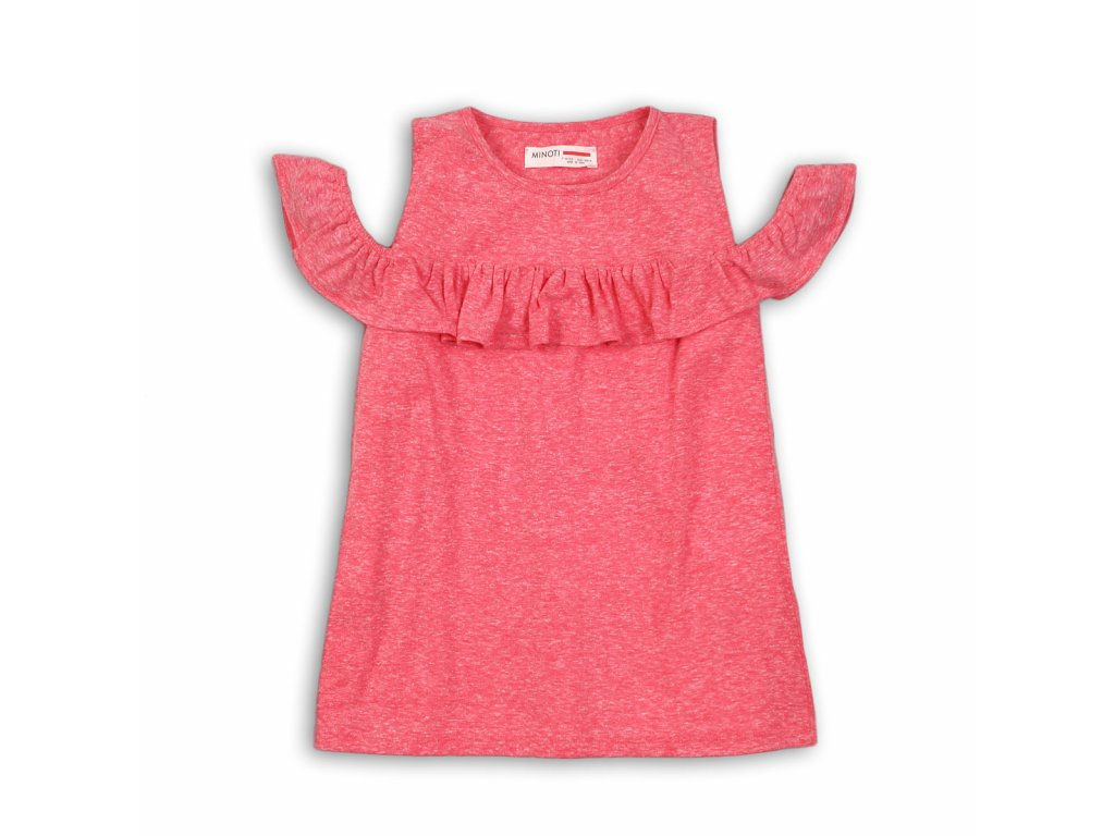 Tričko dívčí s holými rameny Kids růžová