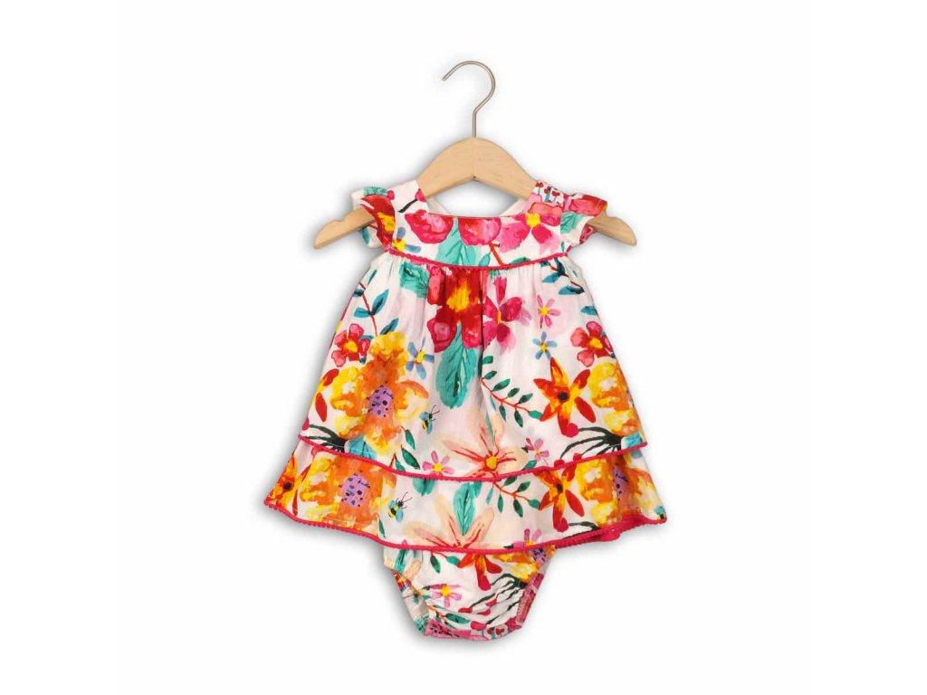 Šaty dívčí a kalhotky Baby holka