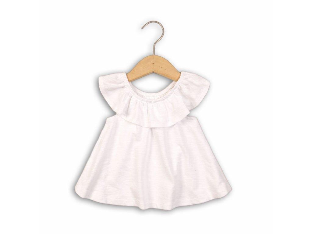 Tunika dívčí Baby bílá