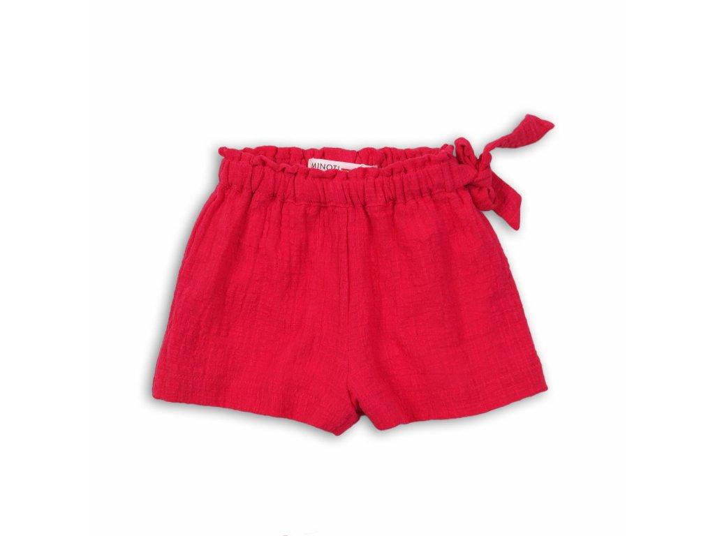Kraťasy dívčí Baby červená