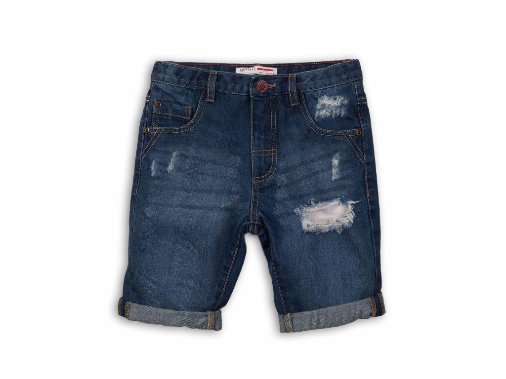 Kraťasy chlapecké džínové Junior modrá