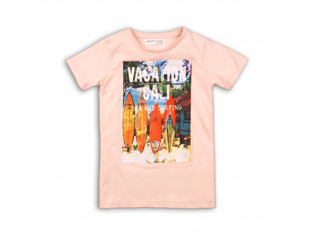 Tričko chlapecké s krátkým rukávem Kids růžová