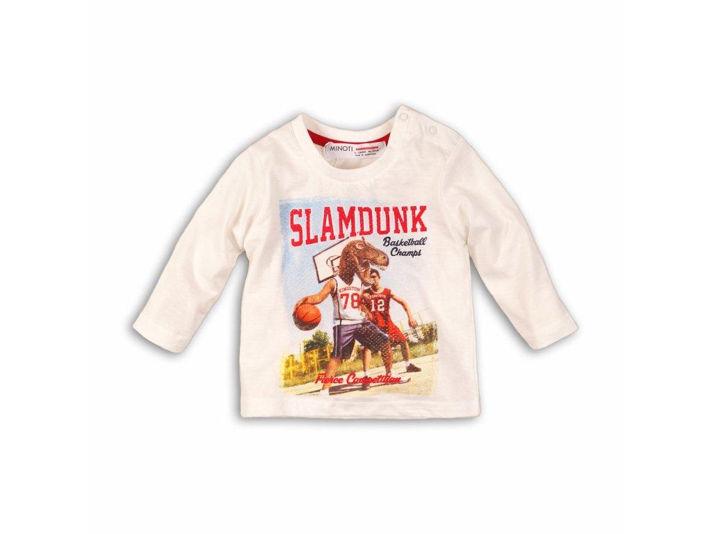 Tričko chlapecké s dlouhým rukávem Kids bílá