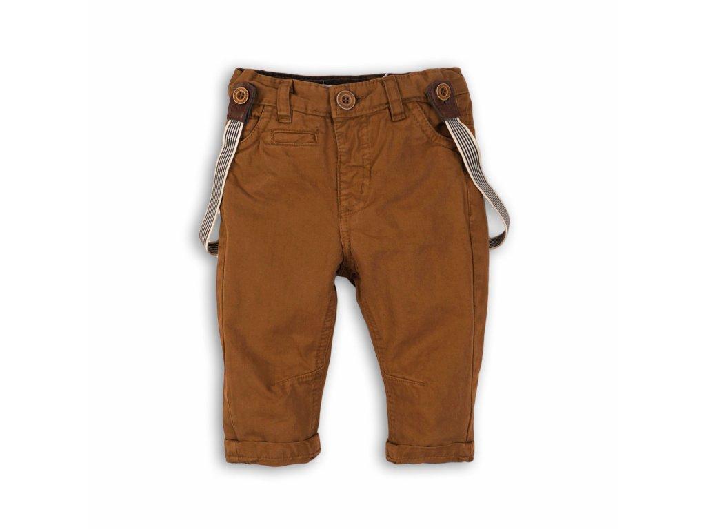 Kalhoty chlapecké se šlemi Kids béžová